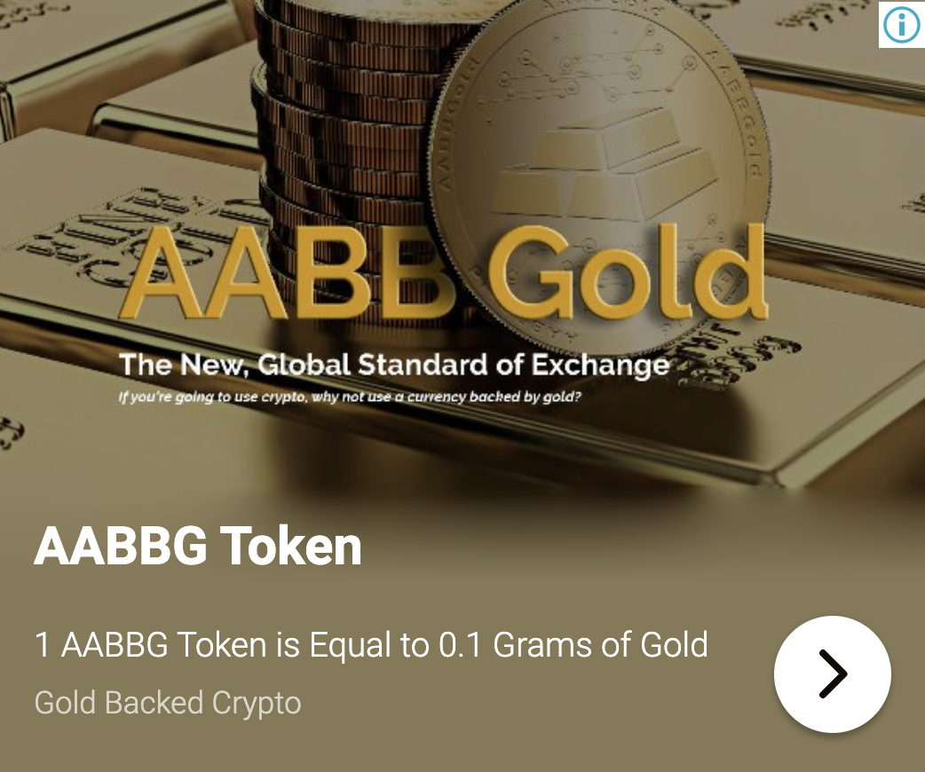 AABBG Token | Gold Backed Crypto