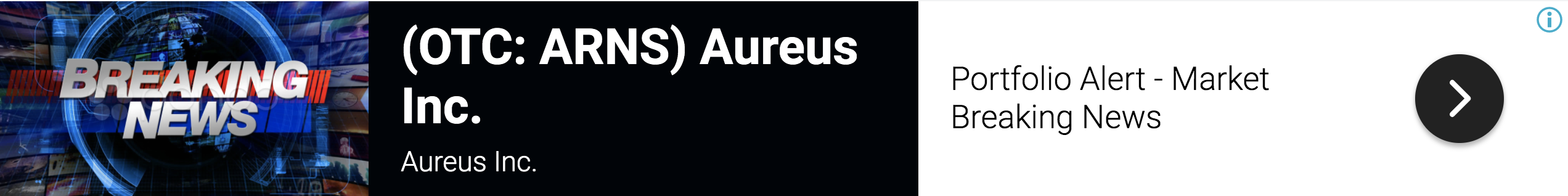 stock market news, aureus inc receives initial order of equipment for 1 6614115802459480
