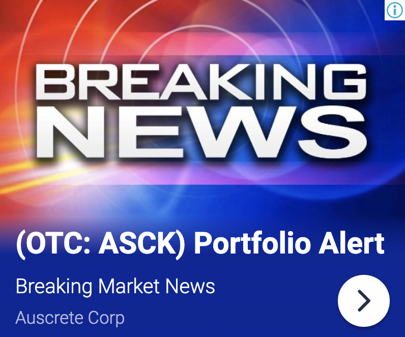 stock market news, auscrete corp asck to boost output following huge de 7584760450556111