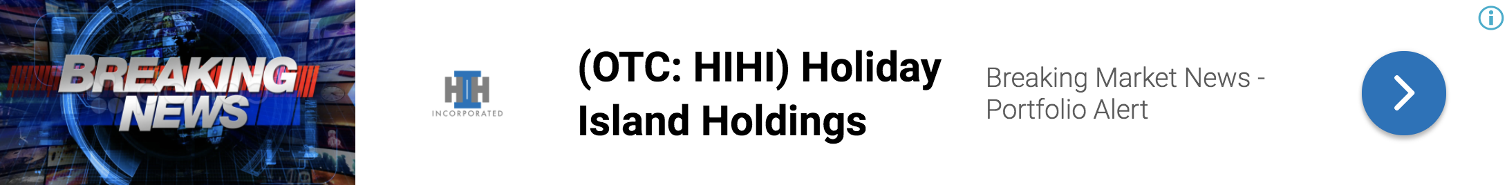 stock market news, holiday island holdings inc enters the under contrac 4687130304841384