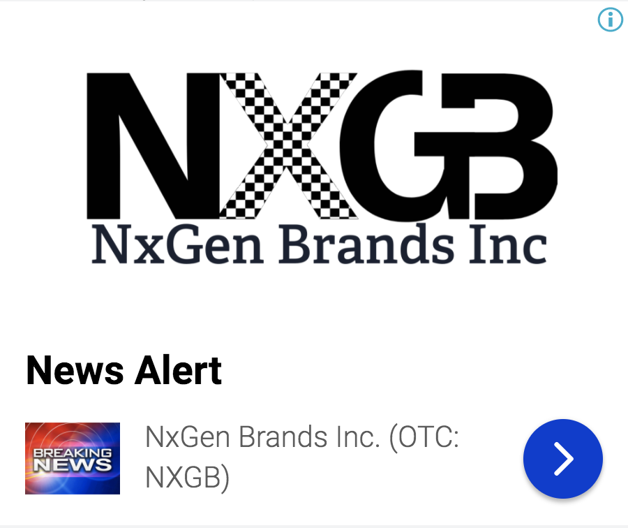 stock market news, nxgen brands inc acquires exclusive license to utili 8386653890827187