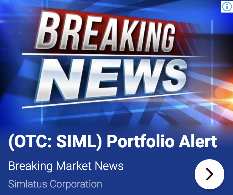 stock market news, simlatus chairman richard hylen announces new contra 7178489814187412